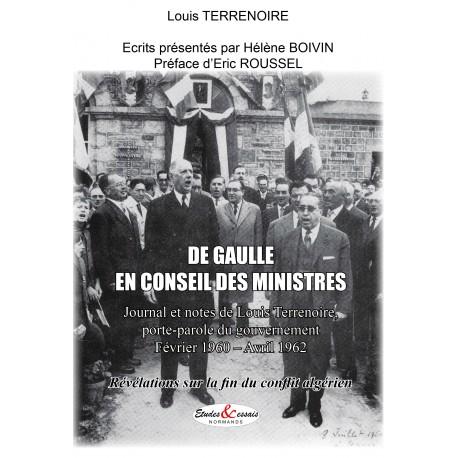 De Gaulle en conseil des ministres