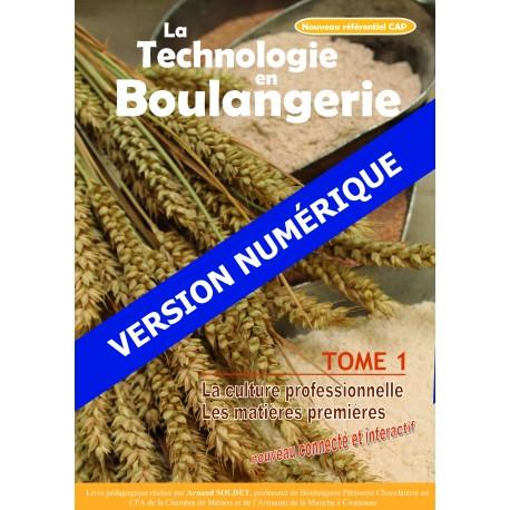 Version Numérique CAP Boulanger - Tome 1 et Tome 2 -- Nouveau référentiel